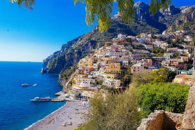 View of Positano on the Amalfi Coast - certainly one of the top 15 places to visit in Italy