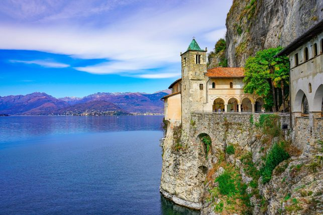 Santa Caterina Church above Lago Maggiore