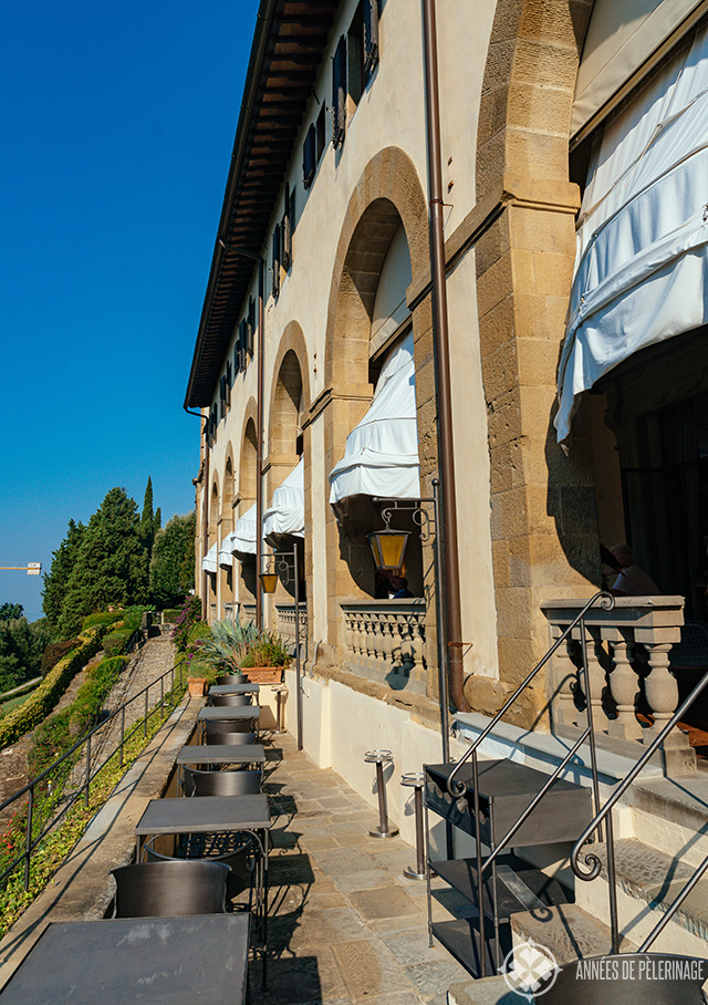 View of the Loggia from outside