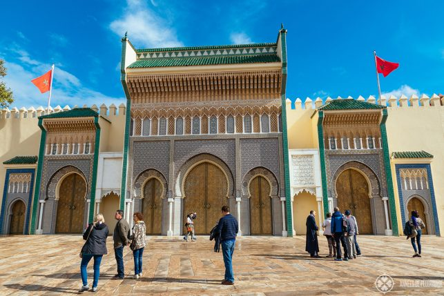 The gates of the Royal Palace - the best Instagram spot in Fez