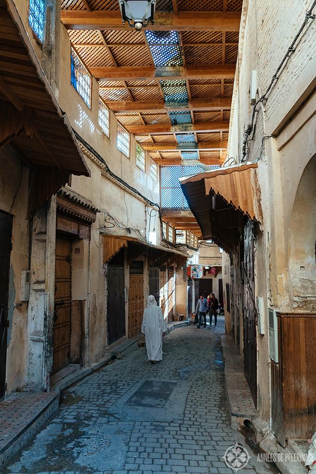A street inside the Fez Medina