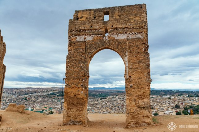 Another gate, another view - the Marinid tombs are one of the best view points in Fez