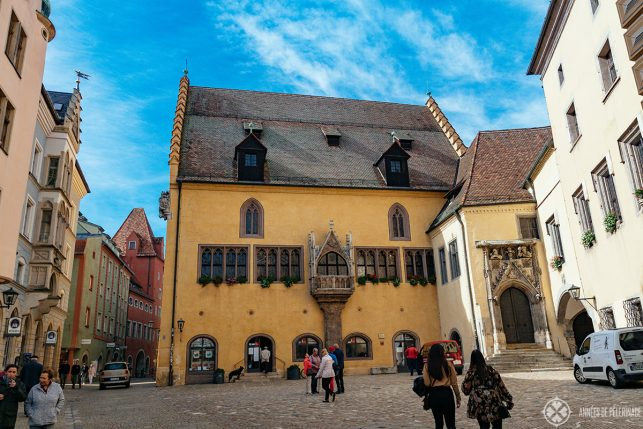 The medieval old town hall of Regensburg
