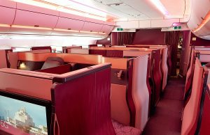 Qsuites review - Qatar Airways business class and everything you need to know before you book a flight.