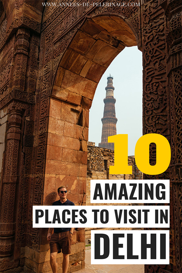 The 10 best places to visit in Delhi India. A detailed Delhi travel guide with all the tourist attractions and points of interest you can cover in 24 hours in Delhi. One day in Delhi might not be enough to see everything, but you'll get a very good first impression.