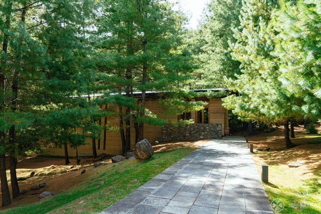The spa at the Amankora Paro lodge