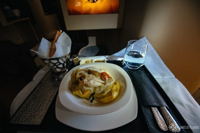 Artichoke Tortellini with truffle sauce
