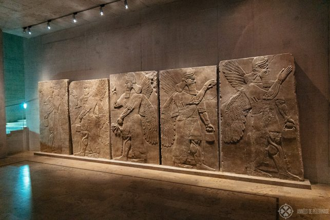 Assyrian reliefs from Nirmud