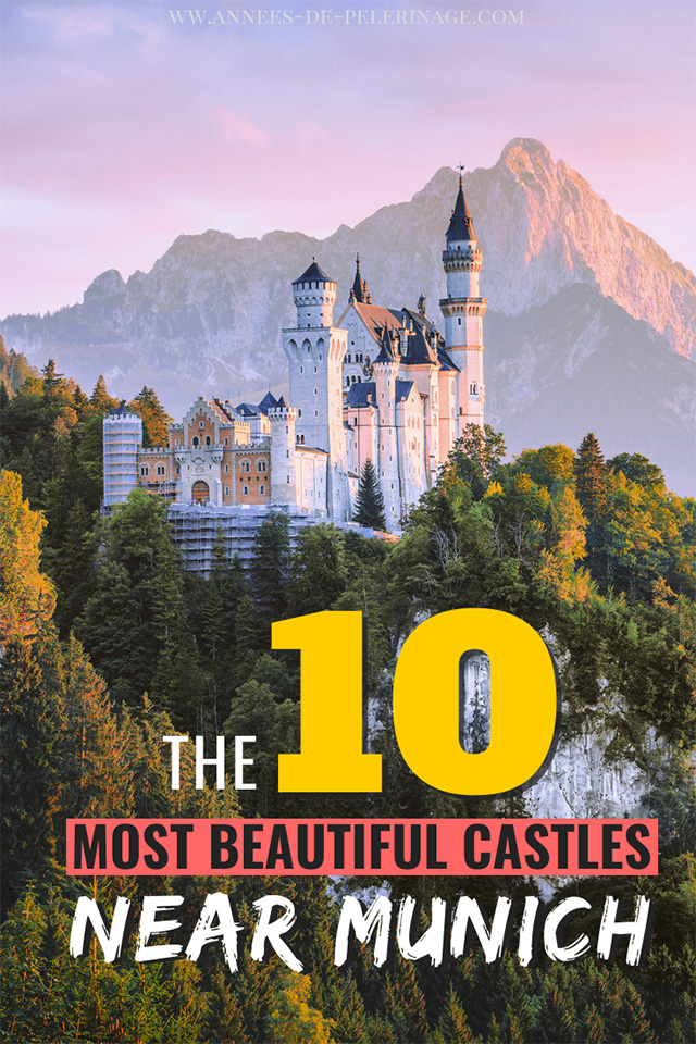 The 10 best castles near Munich. A detailed travel guide by a local with the top palaces and castles in Munich. Plan your perfect Germany itinerary | Germany photography inspiration.
