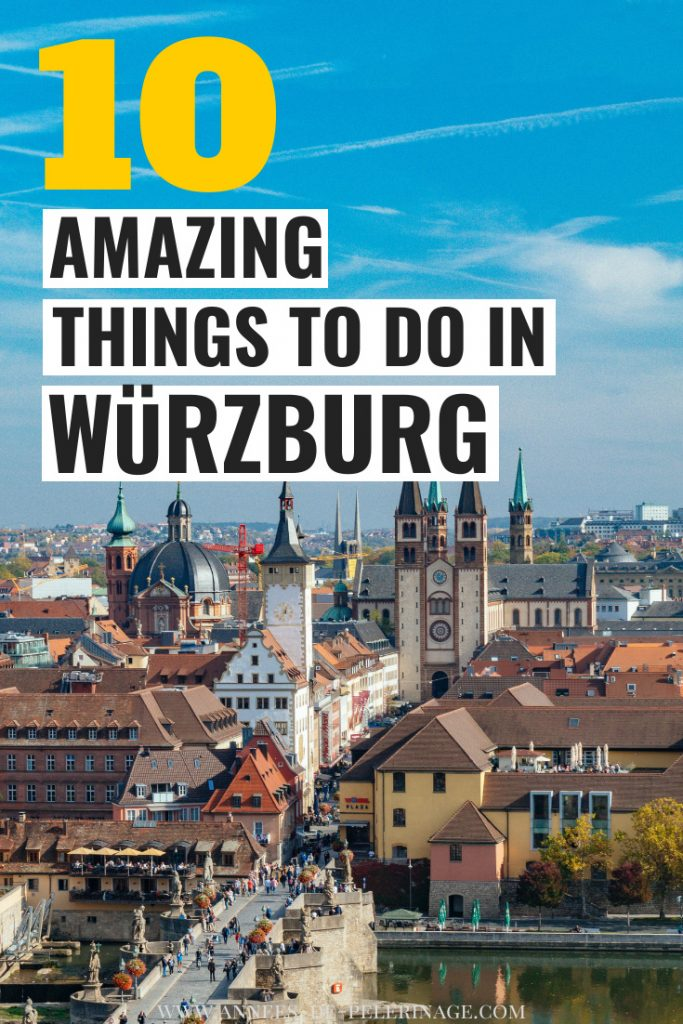 The 10 best things to do in Würzburg, Germany - a detailed travel guide with all the top tourist attractions in the bavarian city.