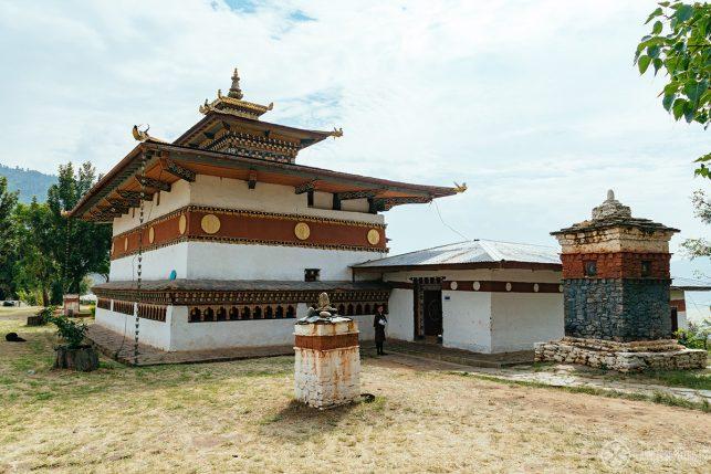 The fertility temple Chimi Lhakgang near Punakha