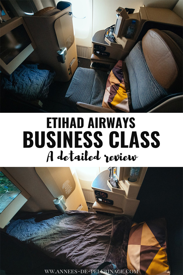 A detailed Eithad airways business class review 2019