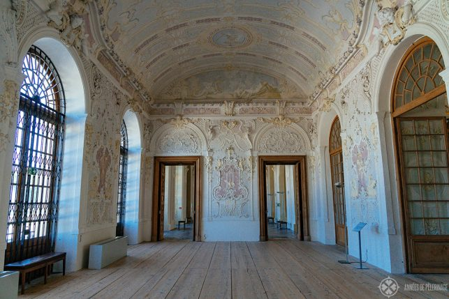 The ground floor of Schleissheim Palace, Munich