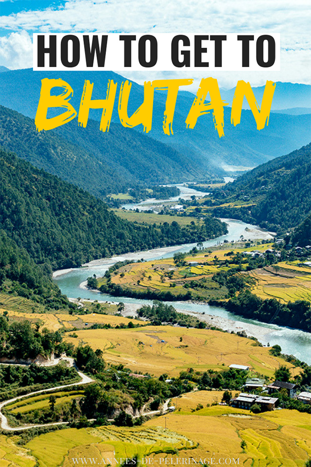 How to get to Bhutan. A detailed travel guide with all the information you need to plan your perfect trip to Bhutan. Which is the best airport and can you get to bhutan by car as well? Perfect for first-timers.