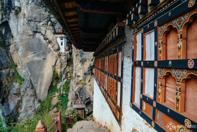 One of the many smaller buildings in the Tiger's Nest monastery