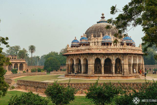 The smaller Isa Khan Nyazi Tomb