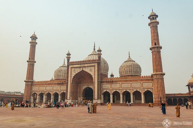 The fantastic Jama Masjid mosque - one of the best things to do in Delhi
