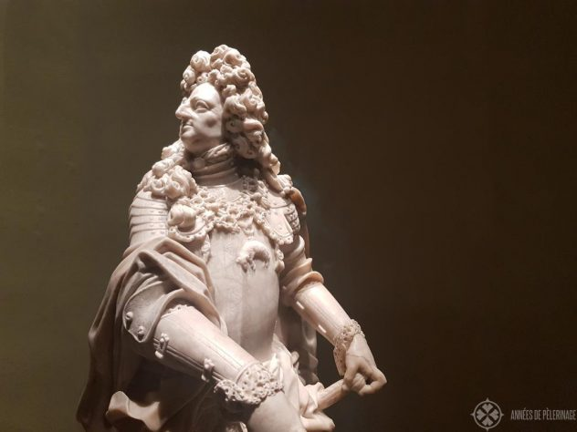 Marmor statue of Prince-Elector Max Emanuell II Bavarian National Museum, Munich