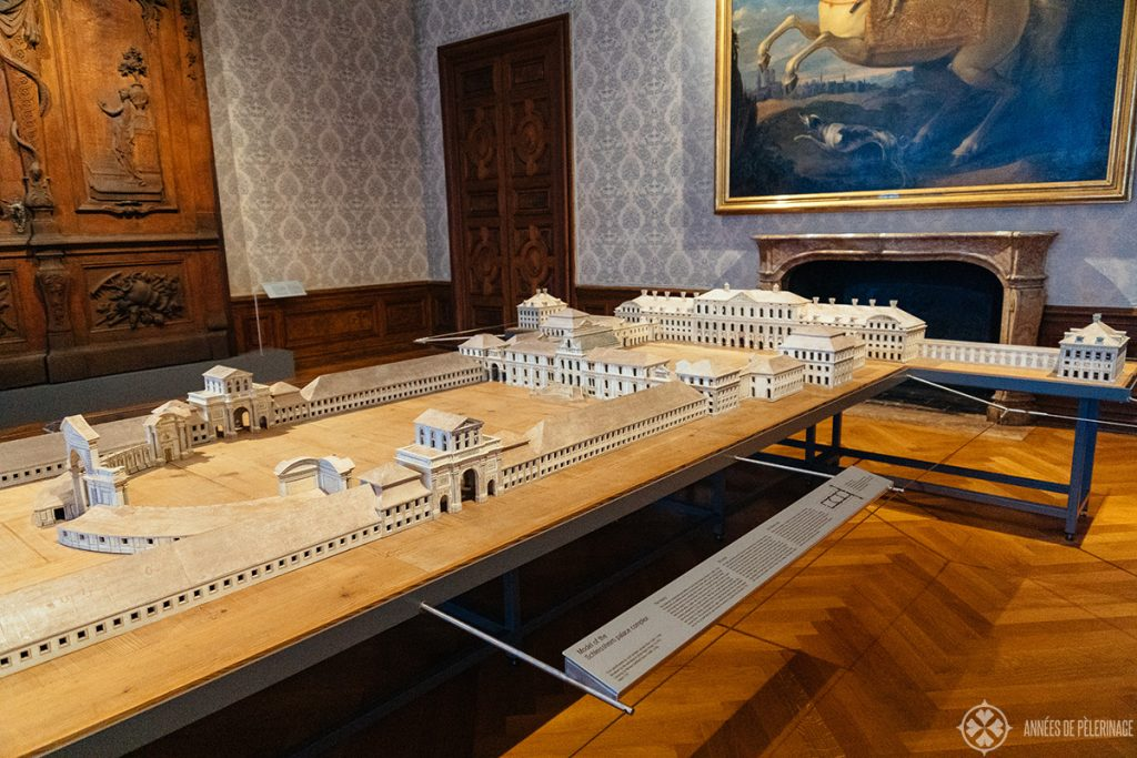 Model of Schleissheim Palace