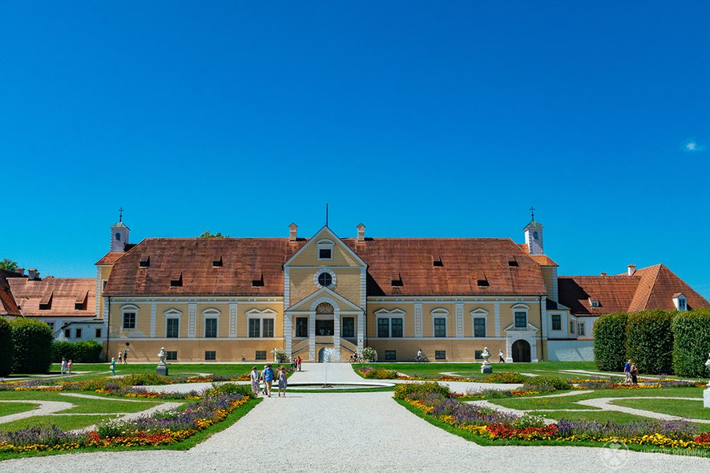 The old Schleissheim palace