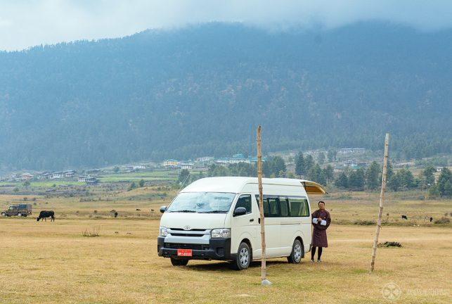 Our car for the two weeks in Bhutan with aman