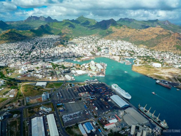 Port Louis from above. he capital of Mauritius should be part of every Mauritius itinerary