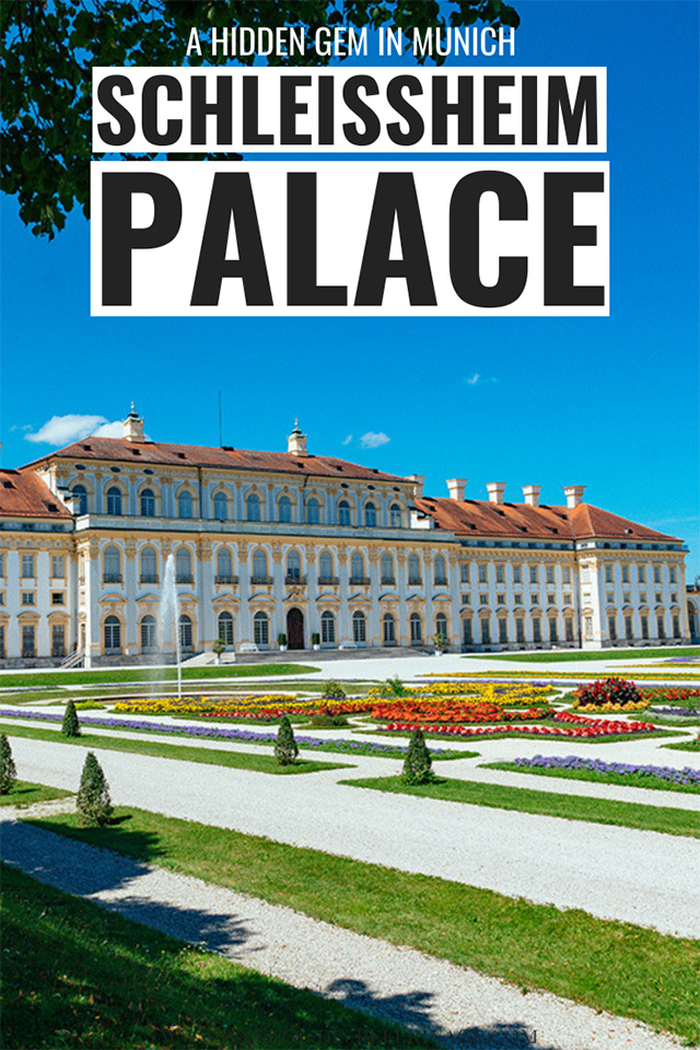 The fantastic Schleissheim Palace in Munich. If you are looking for hidden gems in Munich, then you have to check out this place. The baroque masterpiece is beyond beautiful and has a wonderful park | Munich travel guide | Germany travel