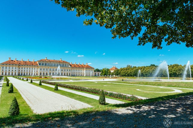 The palace in Schleissheim near Munich, Germany