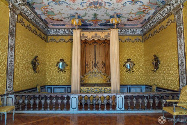 The State Bedroom of Schleissheim palace in Munich, Germany