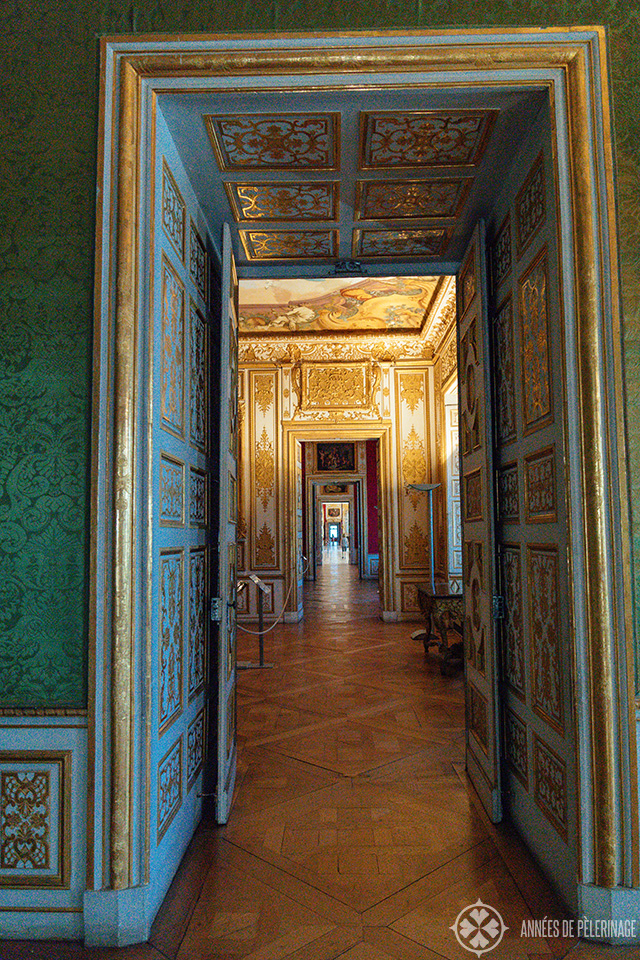 The state rooms of Schleissheim Palace in Munich