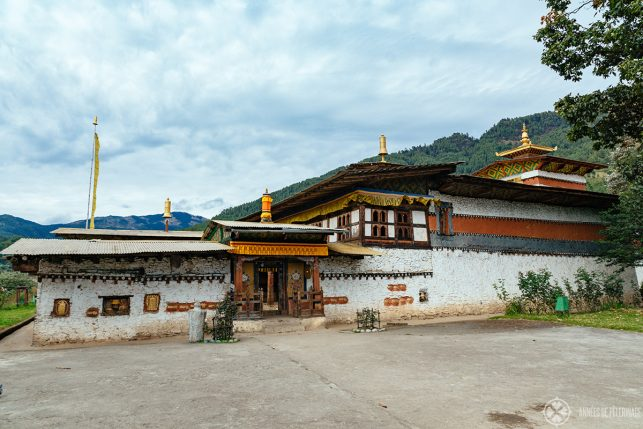 The ancient Tamshing Goemba monastery in Bumthang, Bhutan