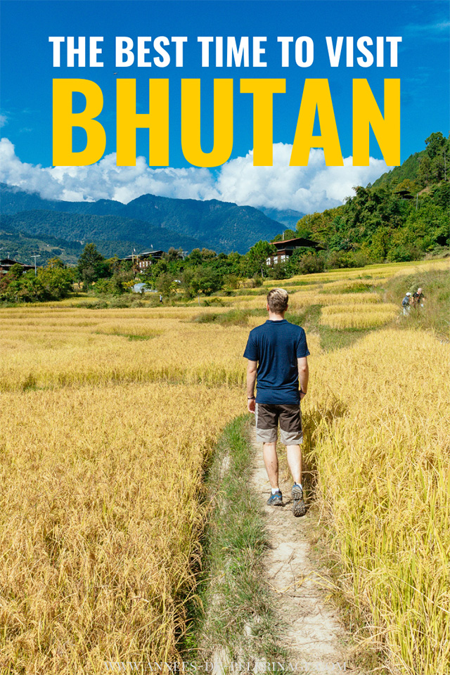 The best time to visit Bhutan - a detailed month by month analysis. Wondering when is the best time to travel to Bhutan? then this guide will help you plan your perfect tour/itinerary.