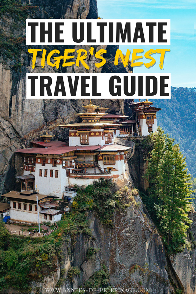 A detailed Tiger's Nest travel guide. Everything you need to know about the Paro Taktsang hike - one of Bhutan's top tourist attractions and a definite must-see