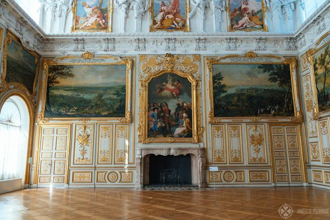 The Victory Hall inside Schleissheim Palace