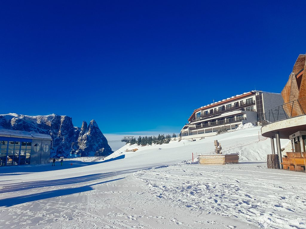 The Alpina Dolomites Hotel at the Seisser Alm