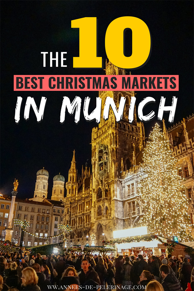The 10 best Christmas markets in Munich, Germany. All the best Weihnachtsmärkte in München you need to visit. Mulled wine, ginger bread and grilled sausages wherever you look. Munich has one of the best christmas markets in Germany and this guide was written by a local.