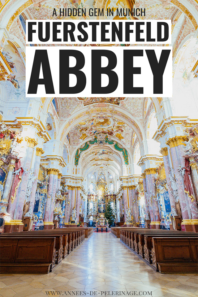 The fantastic Fürstenfeld Abbey near Munich. A baroque masterpiece that is one of the best half-day trips from Munich and quite the insider tip