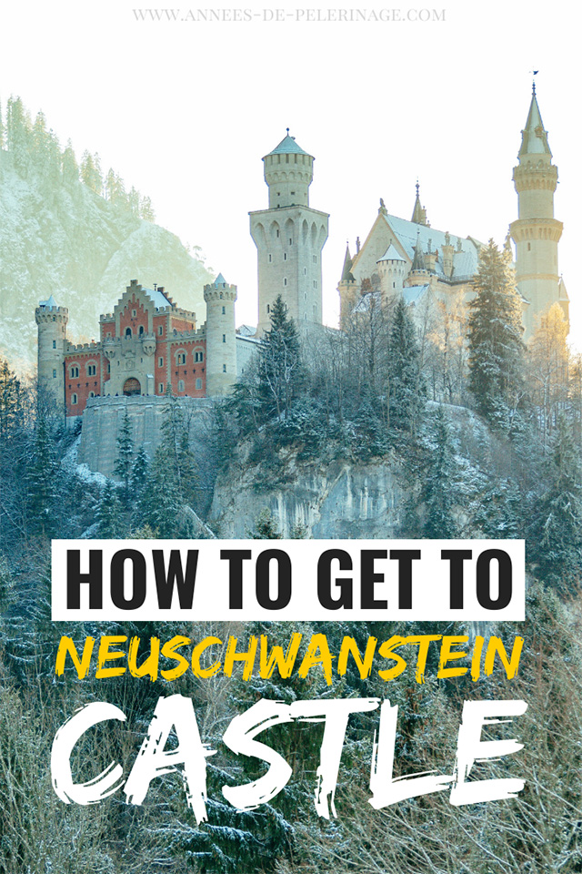 "From Munich to Neuschwanstein Castle - how to get there by bus, train and public transport. The best Neuschwanstein Castle tour for first-timers and everything you need to know on how to get to Füssen, where the ""Disney"" Castle is located."