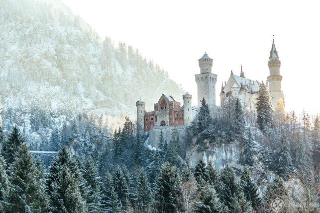 How to get from Munich to Neuschwanstein castle