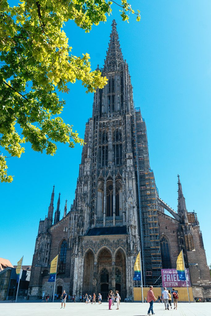 The Ulmer Münster - the tallest church tower in the world