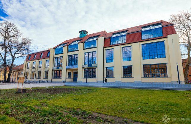 The old Bauhaus University in Weimar