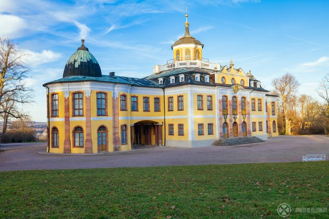 The belvedere palace in Weimar