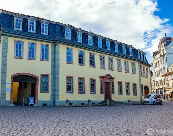 Goethe's house in Weimar