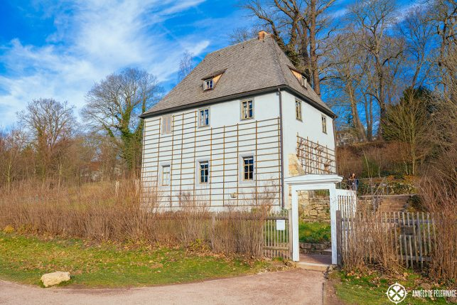Goethe's garden house in the Park an der Ilm
