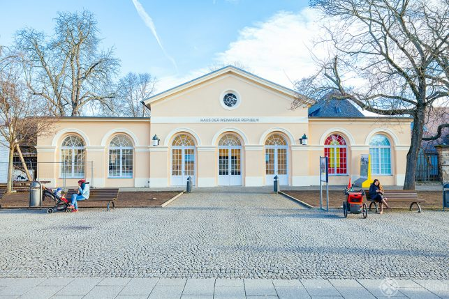 The new Haus der Republik Museum in Weimar