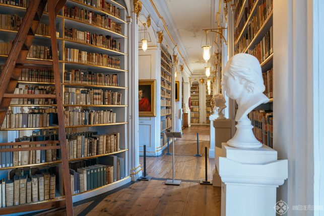 Inside the Anna Amalia Library in Weimar
