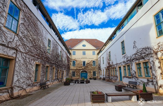The museum for pre and early history in Weimar