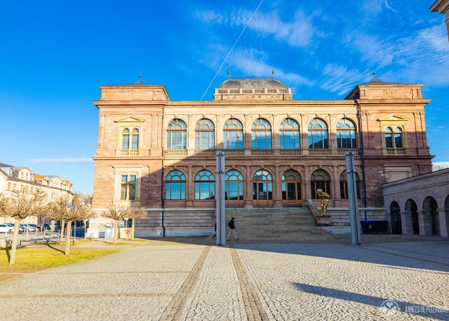 The Neues Museum in Weimar, Germany