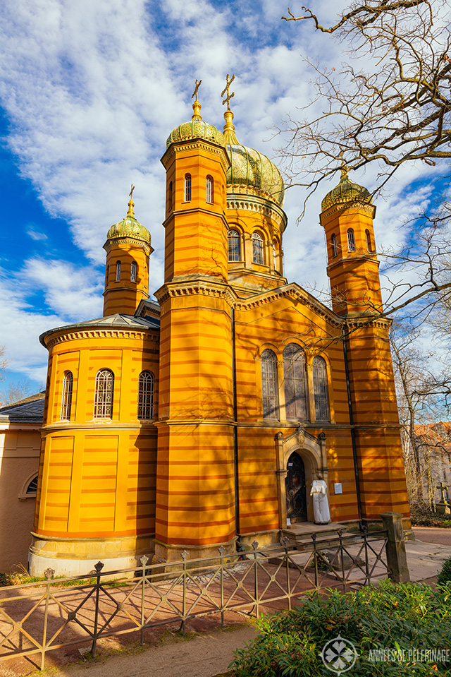 The Orthodox church in Weimar, Germany