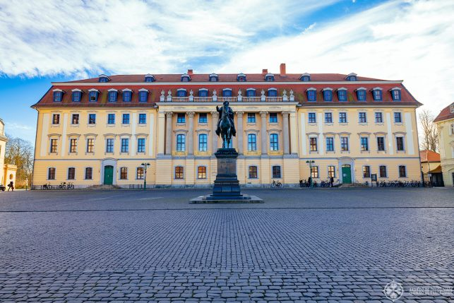 A palace in Weimar, Germany